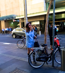 veloaporter cycling every day cycling in heels cycling in a dress cycling with style stylish cycling cycling in boots woman on bicycle