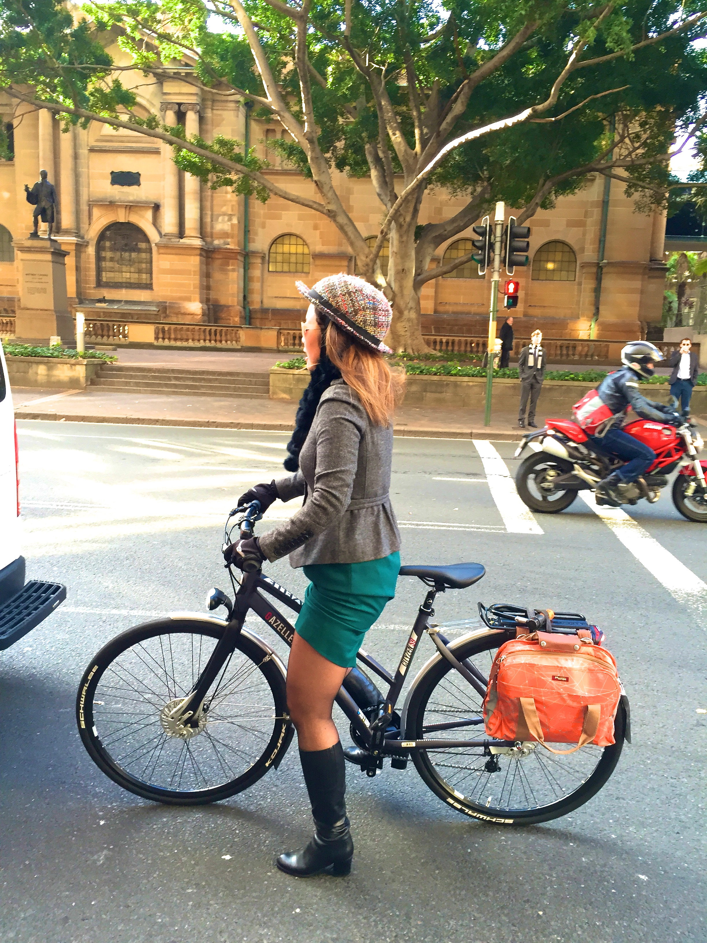 veloaporter po campo cycling with style stylish cycling bicycling in a  dress bicycling in heels bicycling 5a6a3ff40b3f