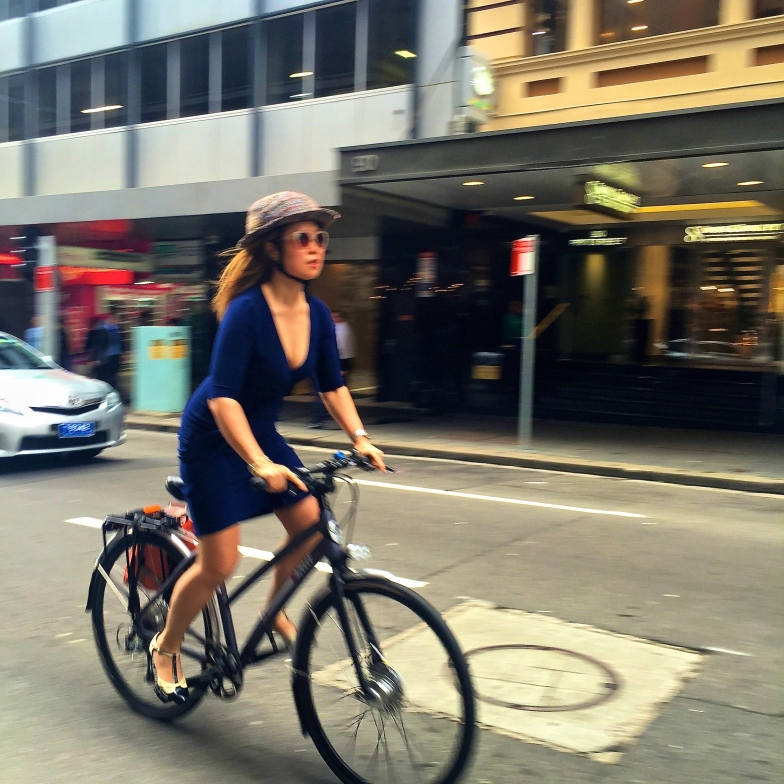 veloaporter cycling in a dress cycling in a skirt cycling in heels women on bicycles stylish cycling