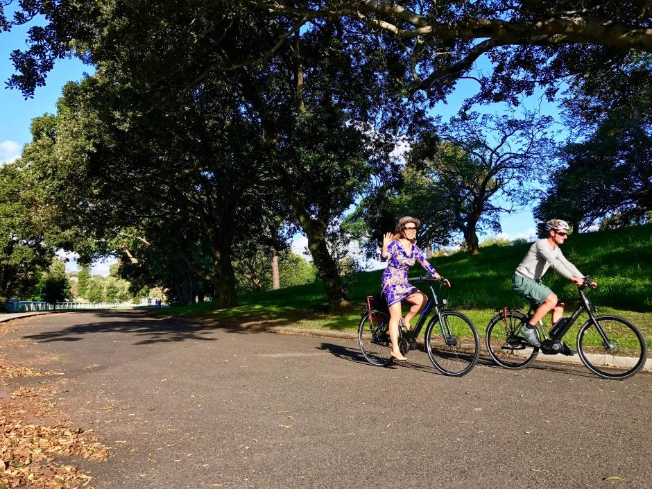 veloaporter Kristof Allegaert Cent Park return