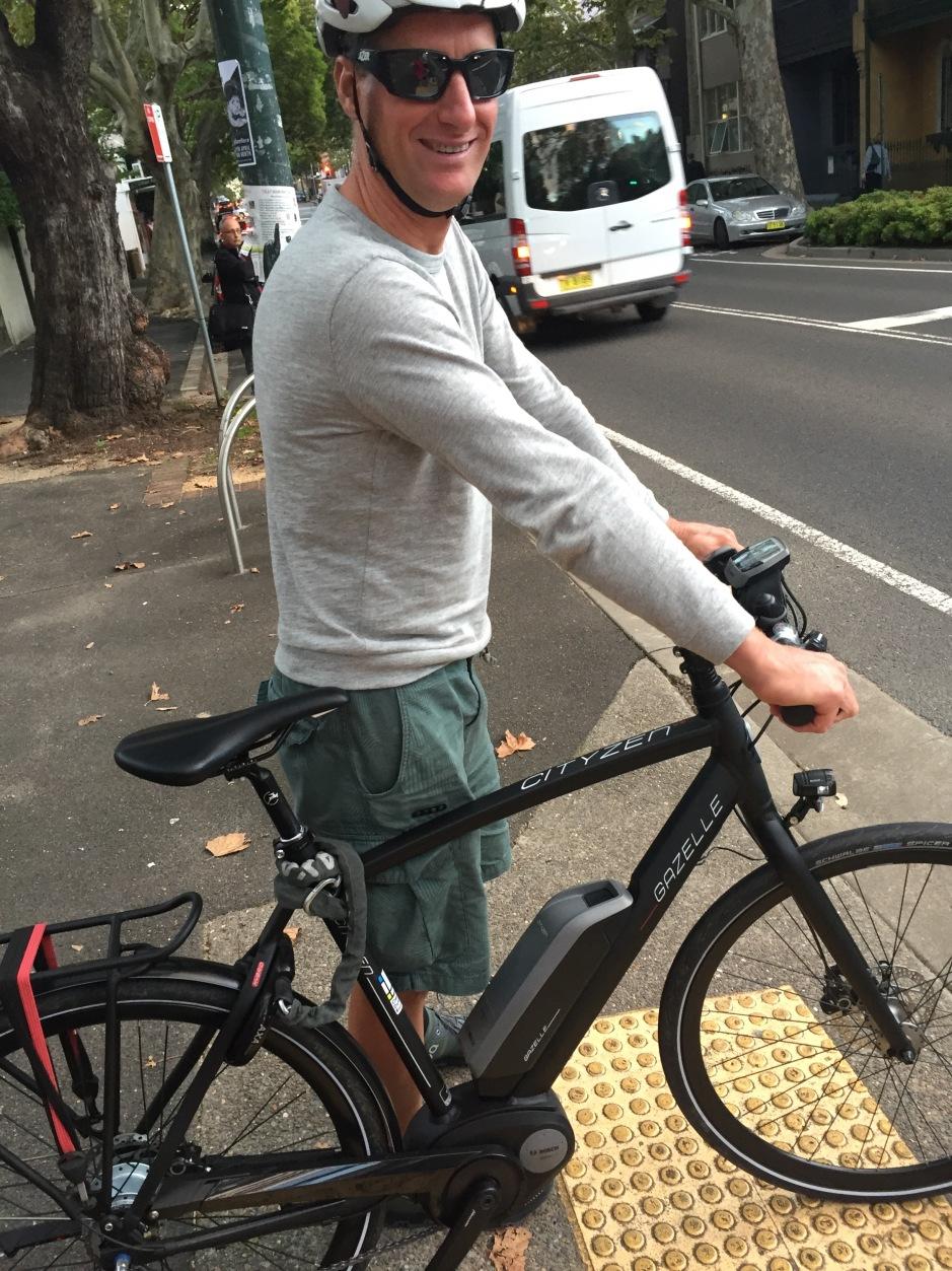 veloaporter Kristof Allegaert footpath