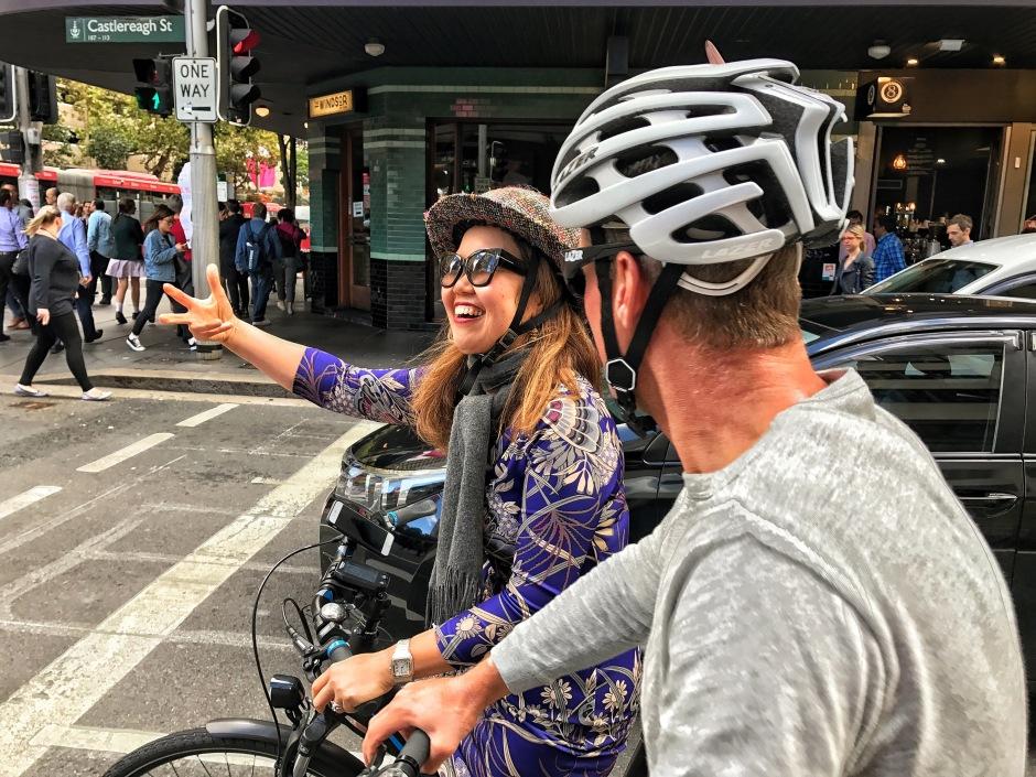 veloaporter Kristof Allegaert selfie